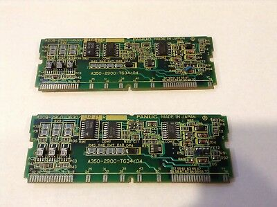 FANUC A20B-2900-0630 - lot of 2