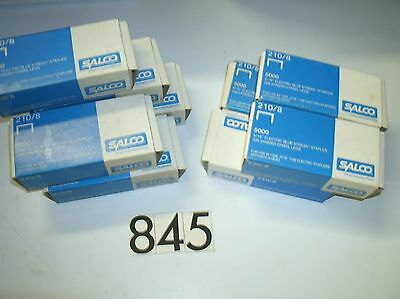 "9 Packs 5/16"" Electric Blue Streak Staples Salco"