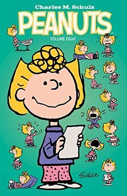 Peanuts Vol. 8 by Charles M. Schulz New Paperback Book