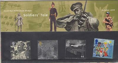 Gb Soldiers' Tale Mnh Presentation Pack Or Stamps Your Choice Po Fresh