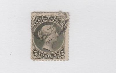 CANADA # 26 FVF-5cts LARGE QUEEN VERY LIGHT CAT VALUE $175+
