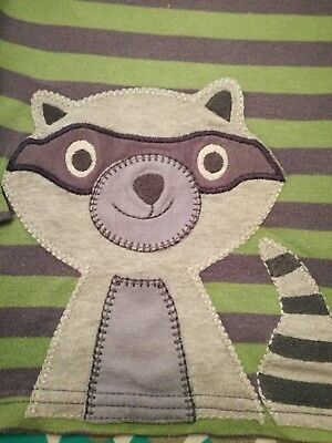 Frugi Raccoon Top and Trousers 18-24 months