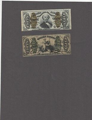 Pair of Third Issue 50 Cent Fractionals-Fr 1341 & Fr 1356-NICE!!