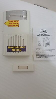 Vintage Trine Westminster Door Chime  wireless strobe chimes model 34