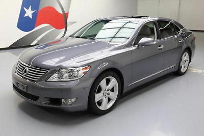 2012 Lexus LS Base Sedan 4-Door 2012 LEXUS LS460 VENT SEATS SUNROOF NAV REAR CAM 32K MI #112367 Texas Direct