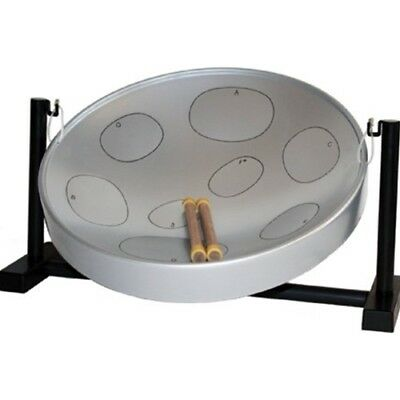 Jumbie Jam Table Top Steel Pan - Grey