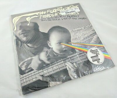 Flaming Lips Dark Side of the Moon Clear Vinyl LP Record Store Day & CD RSD 2010