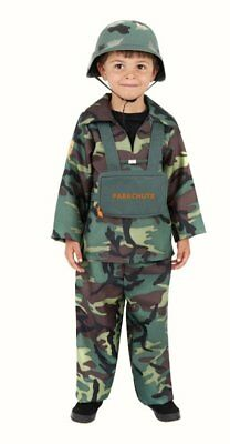 Child Boys Army Boy Camouflage Theme fancy dress costume Outfit