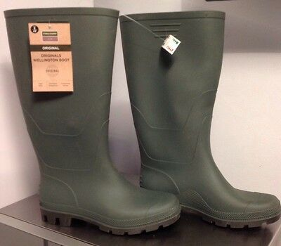 Town & Country ORIGINALS FULL Length Wellington Boots SIZE 8 EUR42 WATERPROOF