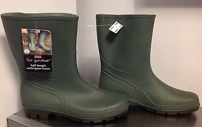Town & Country Essentials Half Length THE GARDENER Wellington Boots SIZE11 EUR46