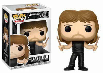 Funko POP Vinyl Rock ! Lars Ulrich - #58 - METALLICA NEW !!!