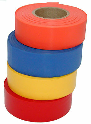 Plastic GREEN Flagging Tape - 72 double size rolls - Merco Tape M220