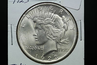 1923 Peace Dollar MS Luster