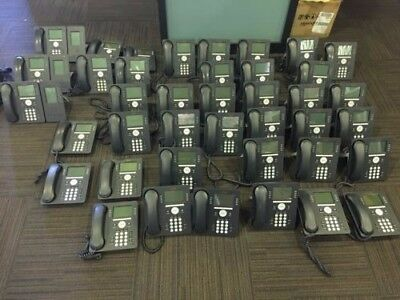 Lot of 22 AVAYA IP 9508 with IP Office 500v2 Phone System Server with 4 Modules