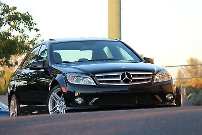 2010 Mercedes-Benz C-Class Sedan 2010 Mercedes-Benz C300 AMG Sport w/Factory Navigation & DVD Player