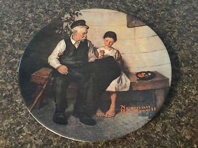 "Norma Rockwell Plate. Limited Edition "" The Lighthouse Keepers Daughter"" 16989X"