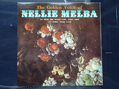 "Nellie Melba - The Golden Voice of Nellie Melba - 7"" Vinyl Single EP Record"