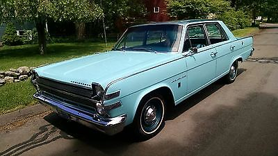 1966 AMC AMBASSADOR 880 Base Sedan 4-Door 1966 AMC AMBASSADOR 880 WITH 19,373  MILES V-8 3 SPEED STICK / OD COLD A/'C