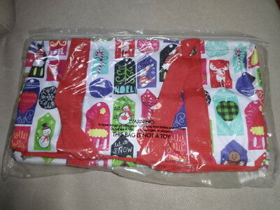THIRTYONE Thirty-One 31 Medium Utility Tote BRAND NEW Hello Holiday