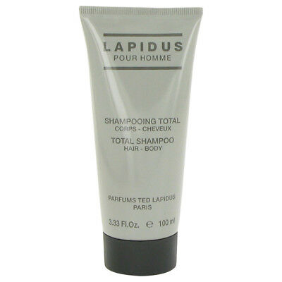 Lapidus Cologne By Ted Lapidus Hair & Body Shampoo (Shower Gel) for Men 3.4