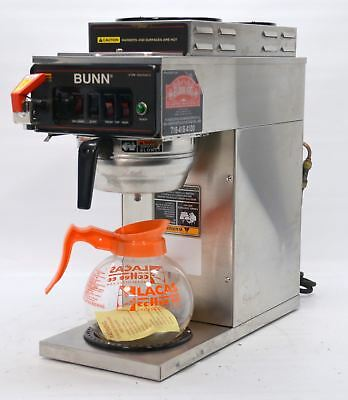 Bunn CWTF15 Automatic Plumbed Pourover Commercial Coffee Brewer 120V w/3 Warmers
