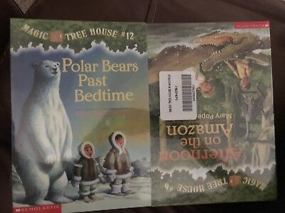 Magic Tree House Paperback Books #1-12 New Collection Library Lot Collection Set