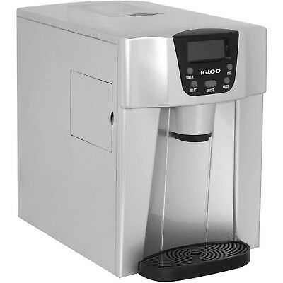 Countertop Ice And Water Dispenser Silver - ICE227 Igloo