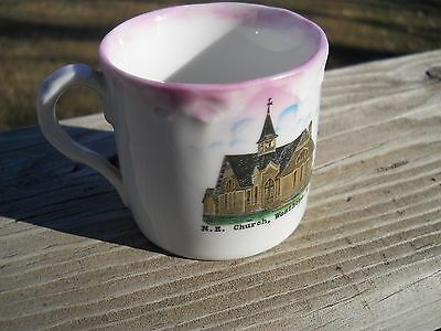 Vintage Souvenir Cup from the M. E. Church at Westhope, North Dakota