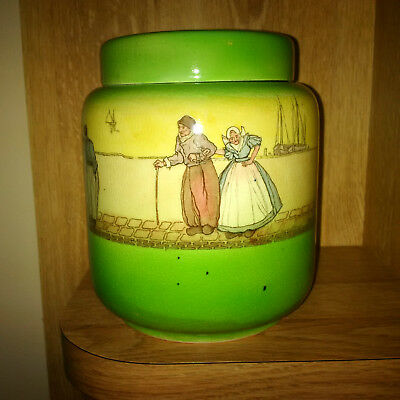 Royal Doulton Lidded Jar (cookies, biscuits, money, drugs??) RARE