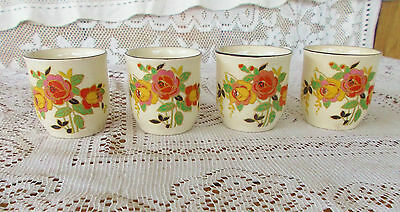 """Royal Doulton """"ROSSLYN"""" 4 x Egg Cups  D5399  England  1930s"""