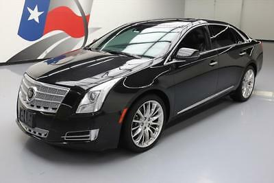 2014 Cadillac XTS Platinum Sedan 4-Door 2014 CADILLAC XTS PLATINUM PANO ROOF NAV HUD 20'S 24K #188700 Texas Direct Auto