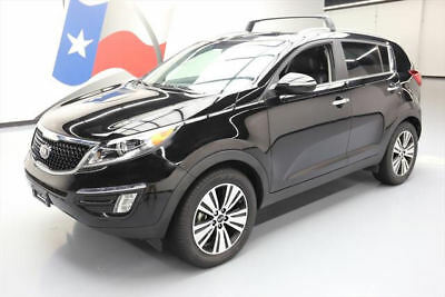2014 Kia Sportage EX Sport Utility 4-Door 2014 KIA SPORTAGE EX PREM LEATHER PANO ROOF NAV 43K MI #565186 Texas Direct Auto
