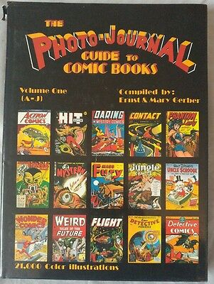 Photo-Journal Guide to Comic Books Hardcover Vol 1 1989