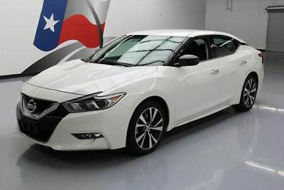 2016 Nissan Maxima  2016 NISSAN MAXIMA S NAVIGATION REARVIEW CAMERA 41K MI #447000 Texas Direct Auto