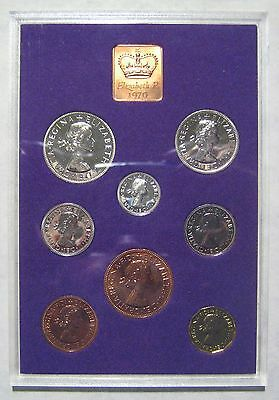 1970 UK (Great Britain) Royal Mint Proof set - 8 Coins Take a Look