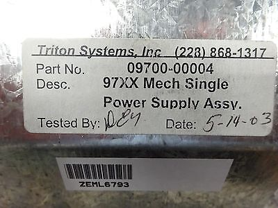 TRITON SYSTEMS POWER SUPPLY 97XX Mech Single  - Part# 09700-0004
