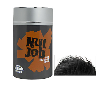 Nut Job Black Hair Building Fibres 22g. Buy Two - FREE Shipping