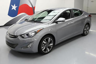 2014 Hyundai Elantra  2014 HYUNDAI ELANTRA LTD HEATED LEATHER REAR CAM 35K MI #160247 Texas Direct