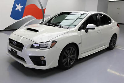2016 Subaru WRX  2016 SUBARU WRX LTD AWD AUTO SUNROOF HTD LEATHER 23K MI #803482 Texas Direct