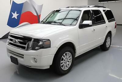 2013 Ford Expedition Limited Sport Utility 4-Door 2013 FORD EXPEDITION LTD SUNROOF NAV CLIMATE SEATS 48K #F19340 Texas Direct Auto