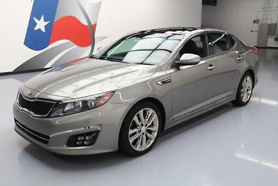 2014 Kia Optima SX Turbo Sedan 4-Door 2014 KIA OPTIMA SXL TURBO CLIMATE LEATHER PANO NAV 25K #272371 Texas Direct Auto