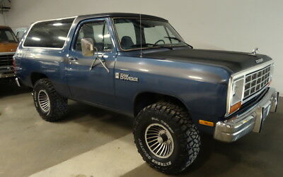 1985 Dodge Ramcharger RamCharger Custom Rare 1985 Dodge RamCharger Custom, 4x4, Low Mileage