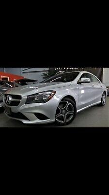 Mercedes-Benz: CLA-Class Clean carproof report.Finished in silver on two tone and black interior.