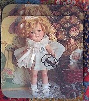 SHIRLEY TEMPLE DOLL Rubber Backed Coasters #0596