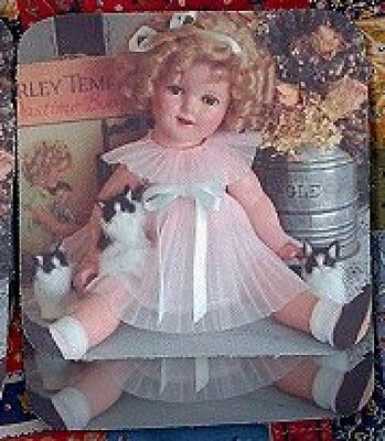 SHIRLEY TEMPLE DOLL Rubber Backed Coasters #0594
