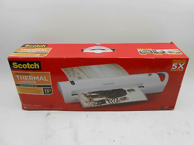 Scotch Advanced Extra-Wide Thermal Laminator (Portable, 2 Heat Settings)