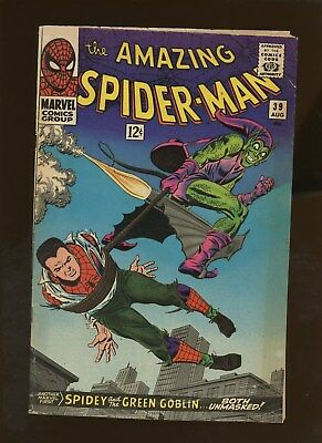 Amazing Spider-Man 39 VG 4.0 * 1 Book Lot * Green Goblin's Identity Revealed!!!