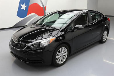 2016 Kia Forte LX Sedan 4-Door 2016 KIA FORTE LX SEDAN AUTOMATIC BLUETOOTH ALLOYS 9K #471029 Texas Direct Auto