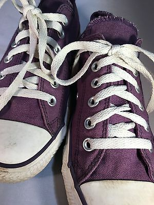 Converse Chuck Taylor All Star Classic Purple Shoes Men 5 Women 7