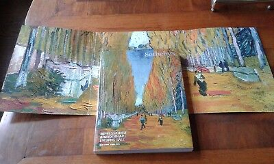 SOTHEBY'S Exquisite Impressionist and Modern Art Sale, Full Color Museum Quality